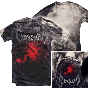 Diluvium All Over Print T Shirt + LP Bundle