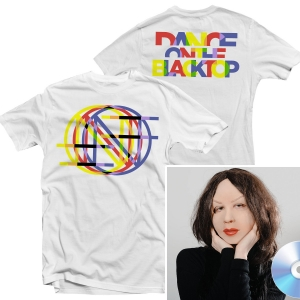 Dance On The Blacktop T Shirt (White) + CD Bundle