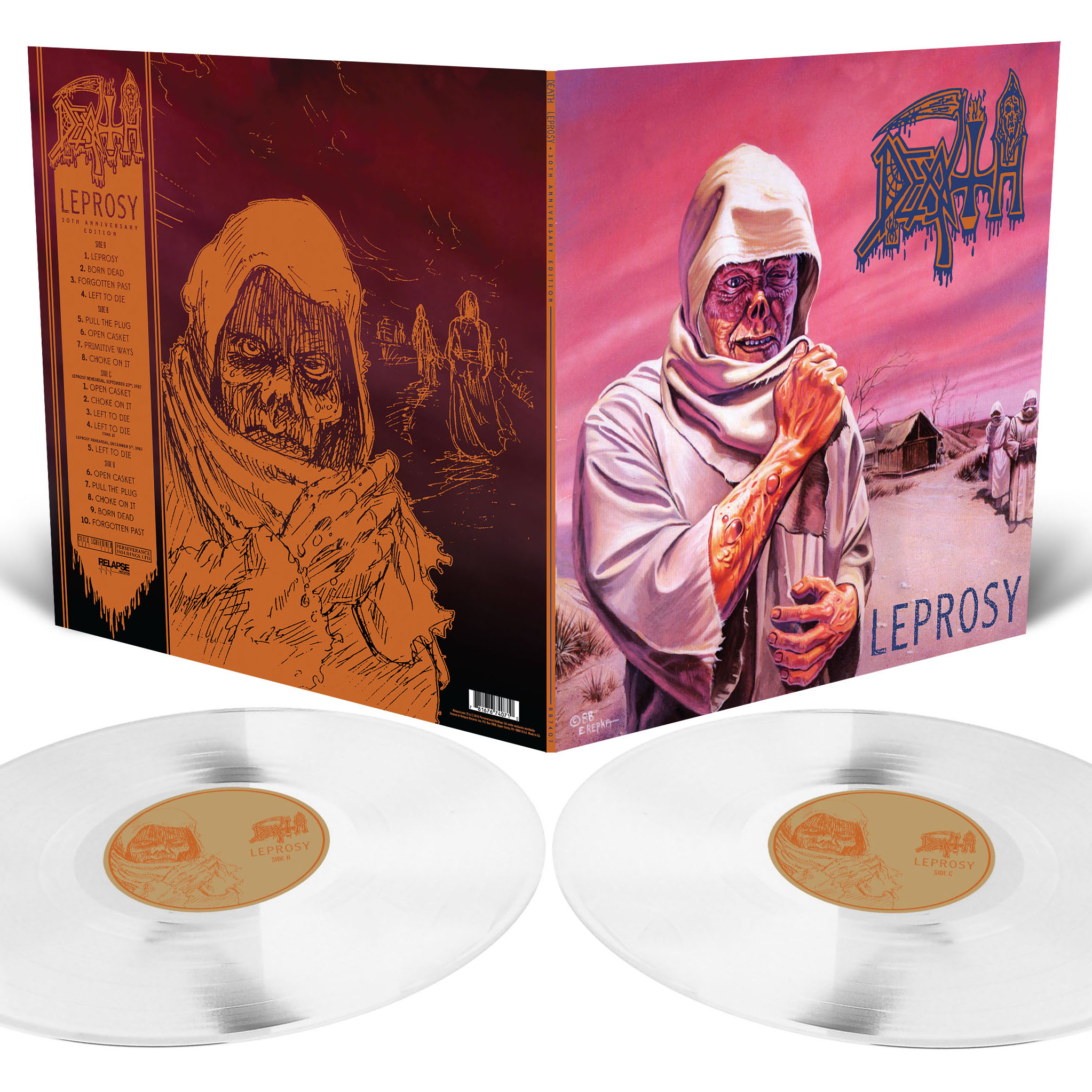 Leprosy 30th Anniversary Deluxe Reissue