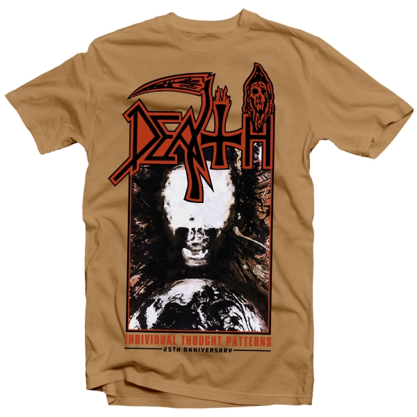 """Death """"Individual Thought Patterns 25th Anniversary T"""