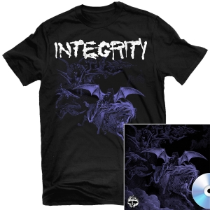 Integrity - Scorched Earth T Shirt + Integrity / Krieg Split CD Bundle
