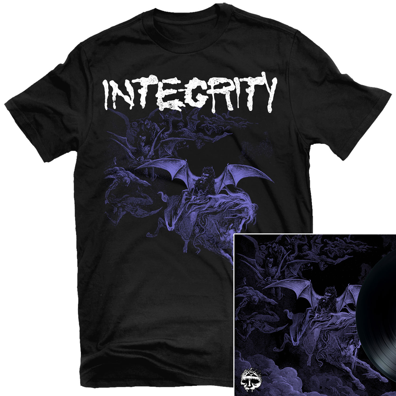 Integrity - Scorched Earth T Shirt + Integrity / Krieg Split LP Bundle