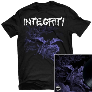 Integrity - Scorched Earth T Shirt + Integrity / Krieg Split LP Bundle
