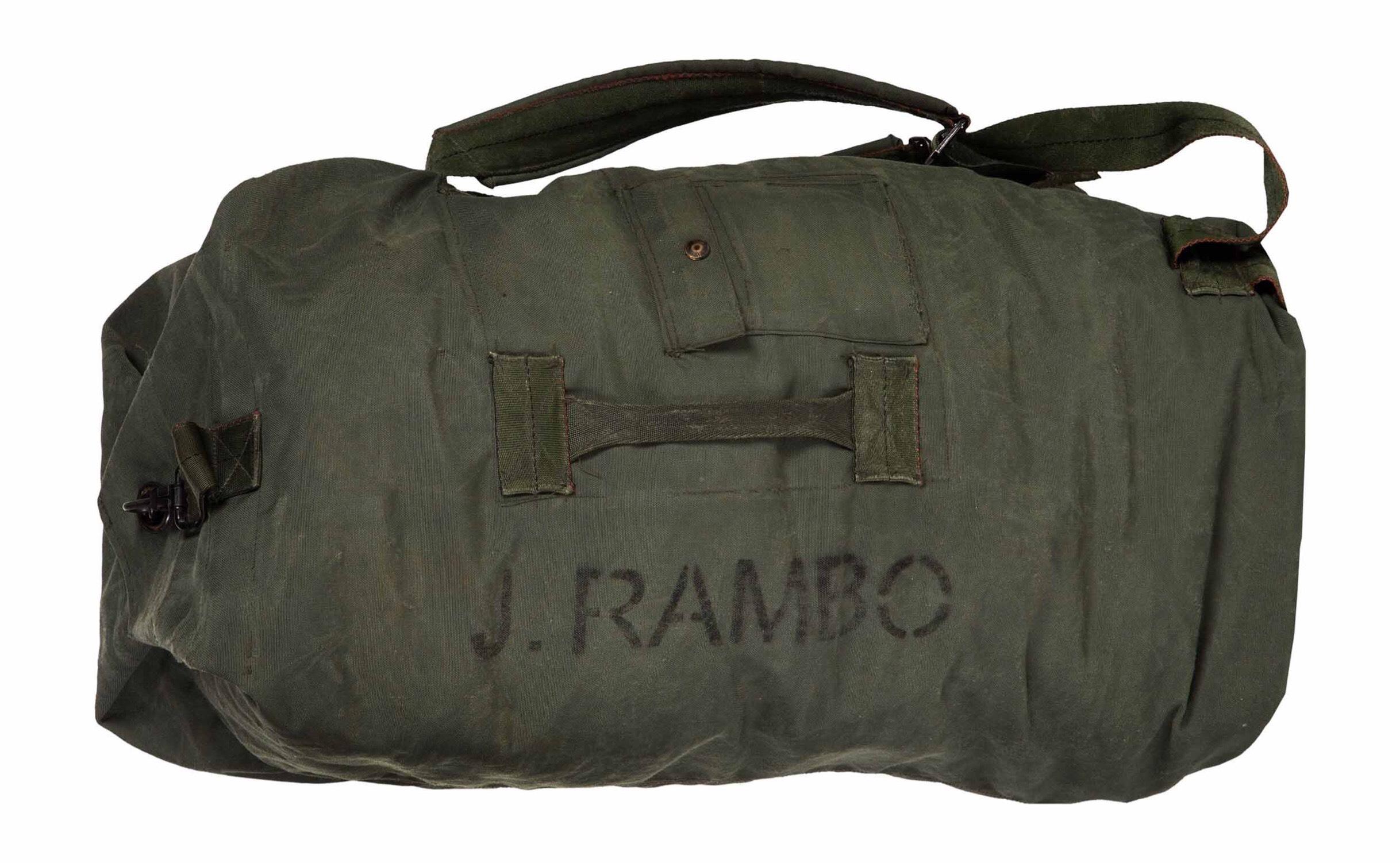 RAMBO Military Duffle Bag