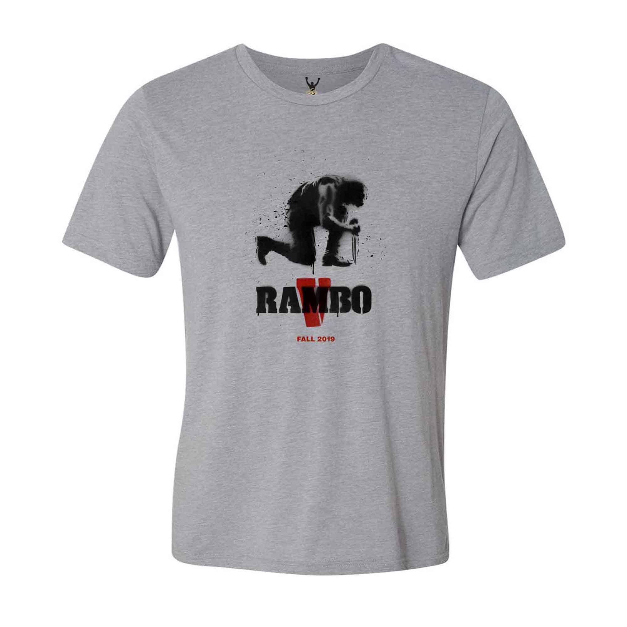 Rambo V Gray Tee