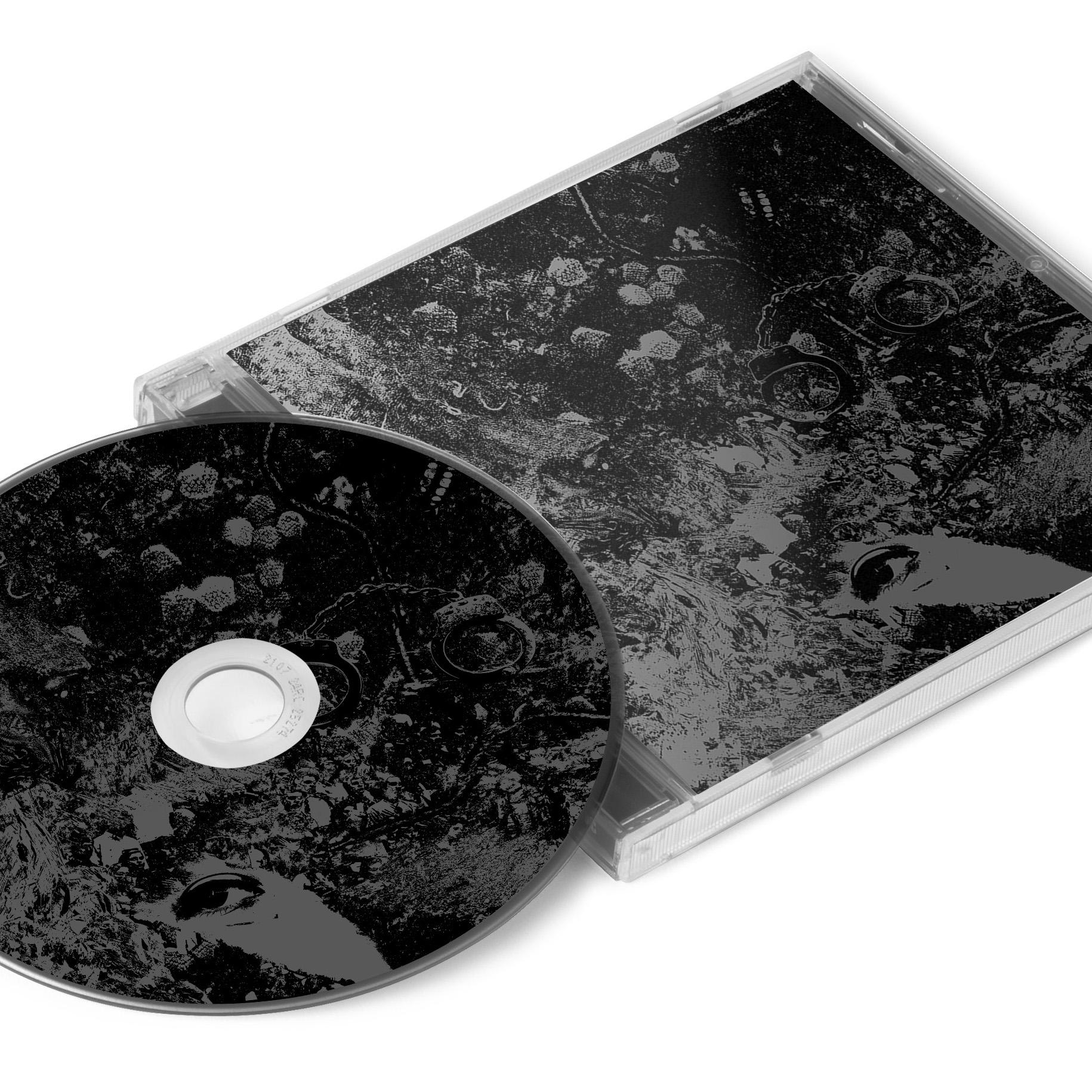 Unearthly Trance - Mechanism Error T Shirt + Split with Primitive Man CD Bundle