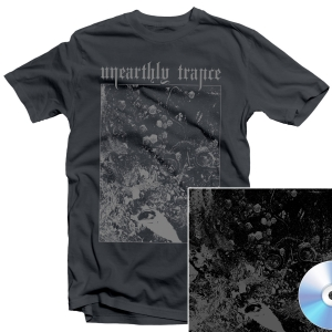 Unearthly Trance - Mechanism Error T Shirt + Split with Primitive Man CD Bundle