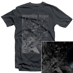 Unearthly Trance - Mechanism Error T Shirt + Split with Primitive Man LP Bundle