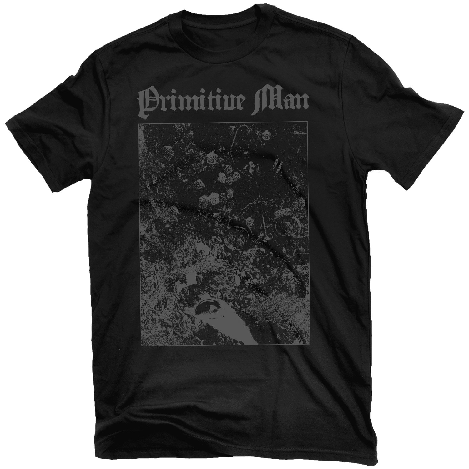 Primitive Man - Love Under Will T Shirt + Split with Unearthly Trance LP Bundle
