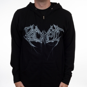 Dripping Logo Zipper