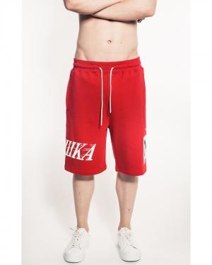 Simon Box Logo Shorts (Red)
