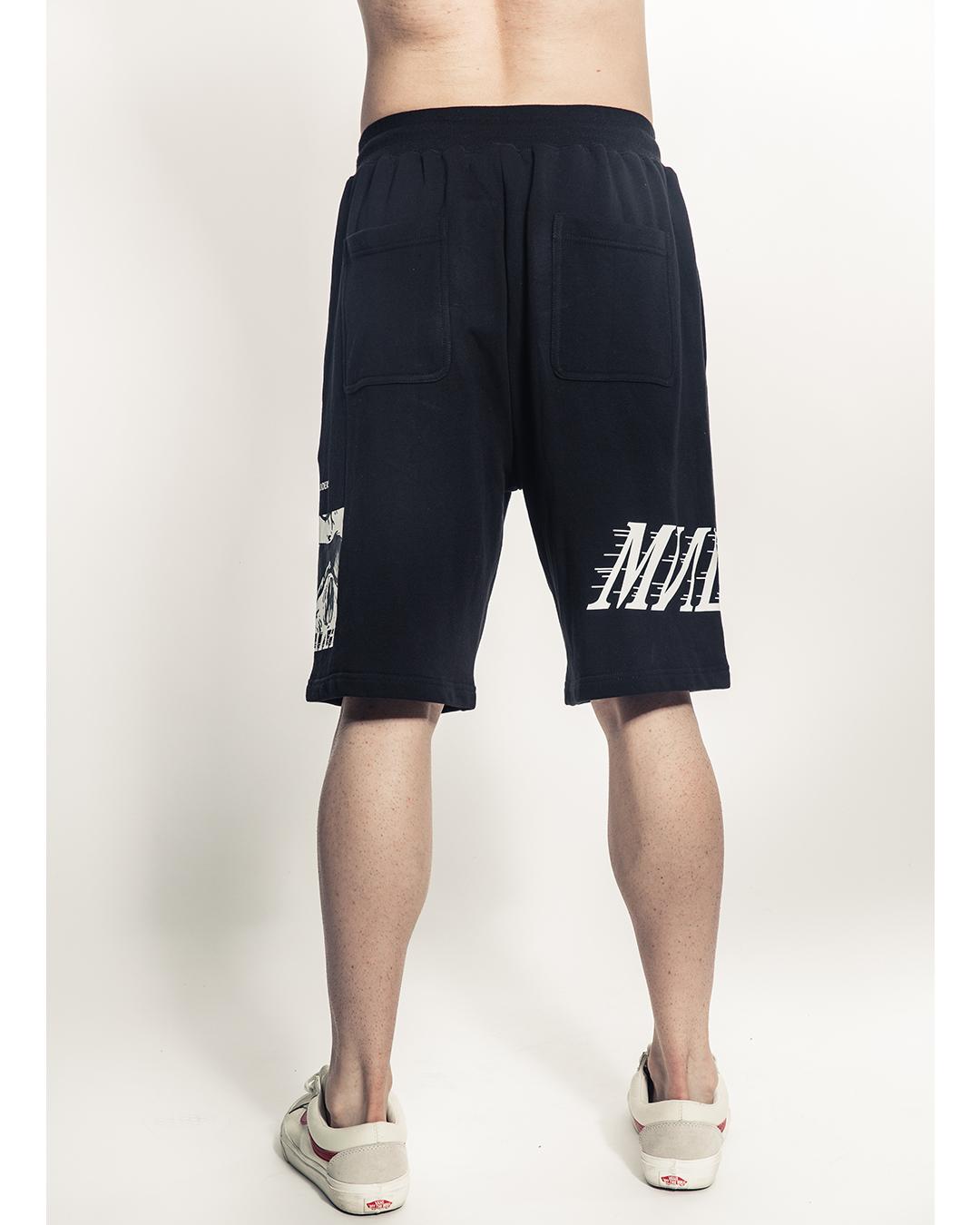 Simon Box Logo Shorts (Black)
