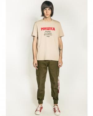 Lamour Split Icons T-Shirt (Dark Khaki)