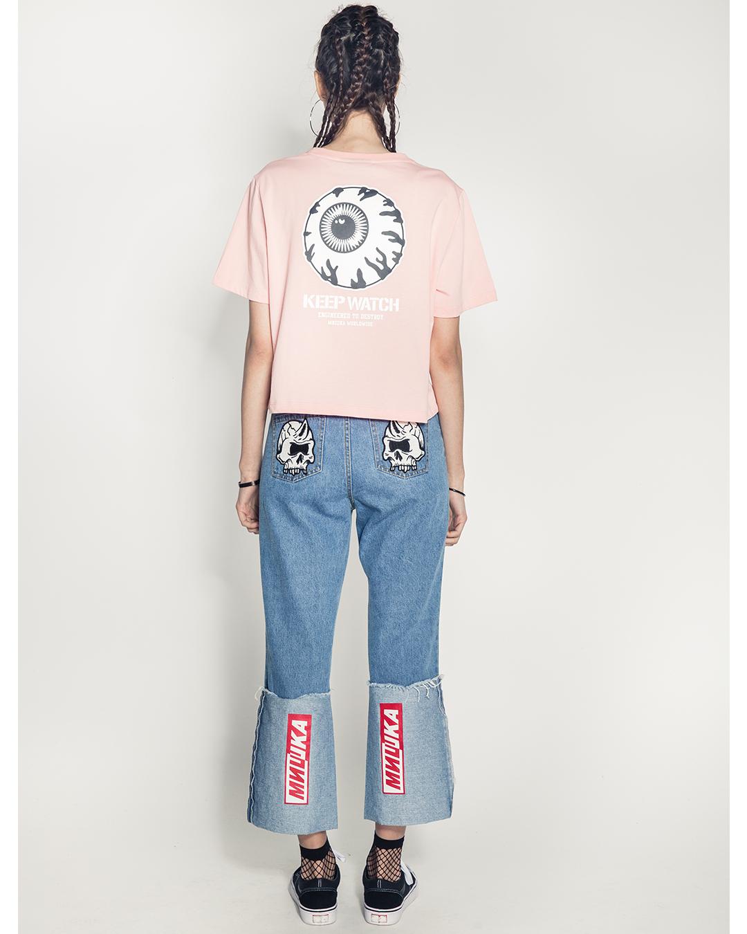 Keep Watch Girl's Shirt (Pink)