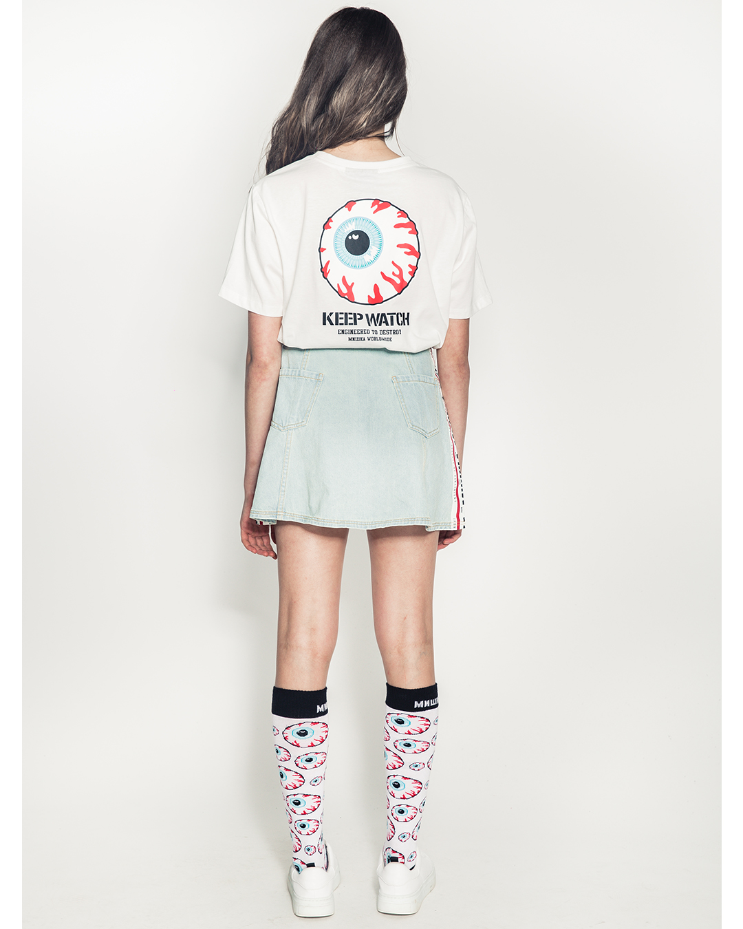 Keep Watch Girl's Shirt (Off White)
