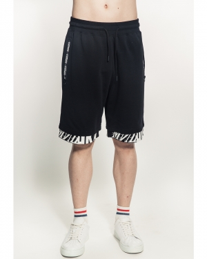 Cyrillic Shorts (Black)