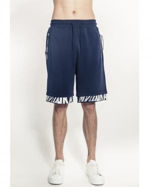 Cyrillic Shorts (Navy)