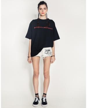 Mistakes Girl's Shirt (Black)