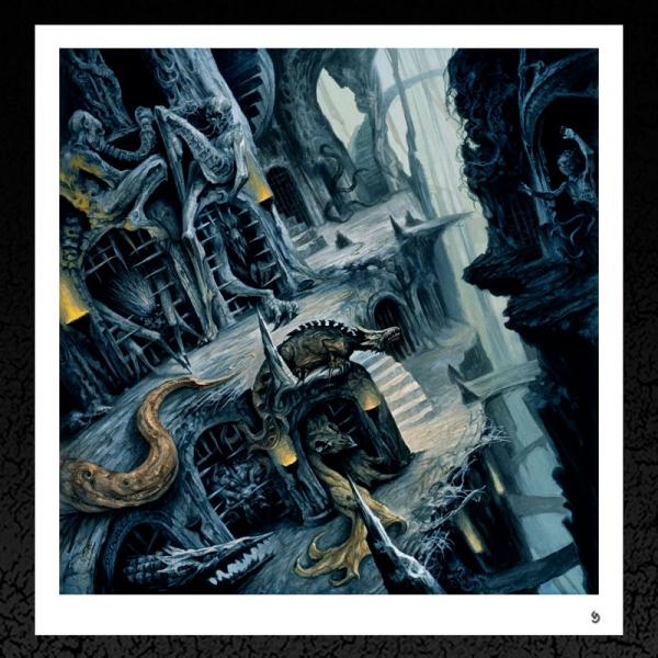 Funebrarum. (Dormant Hallucination) Album Cover