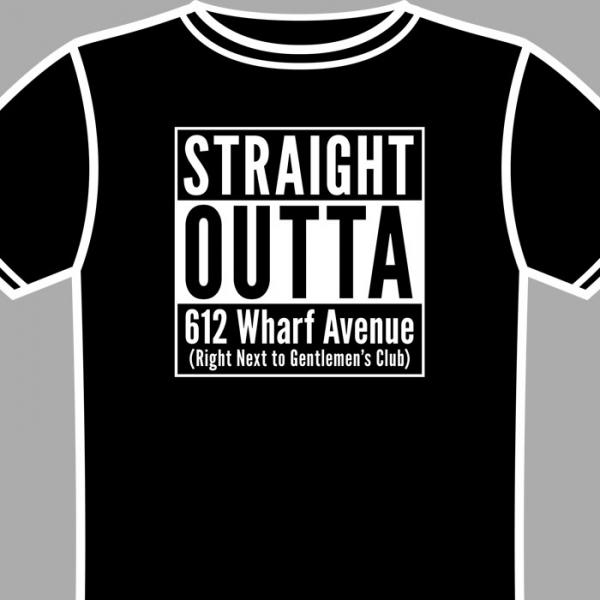 612 Wharf Avenue shirt