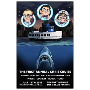 2018 NYC cruise poster