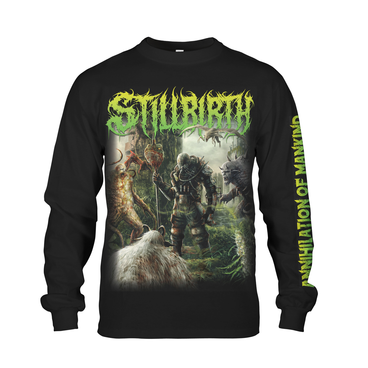 Annihilation of Mankind Longsleeve + CD Bundle