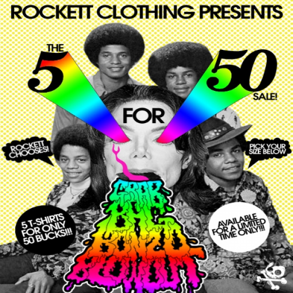 Rockett Grab Bag Deal!  (Includes 5 Girls T-shirts)