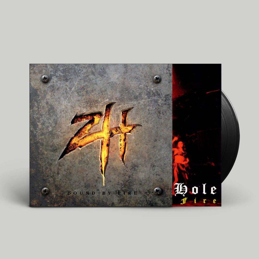 Bound By Fire Black Hole LP + Insert