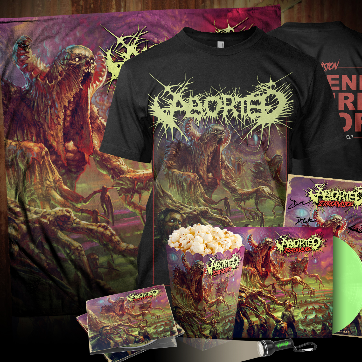 Terrorvision Autographed Collector's Bundle