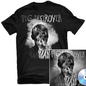 Head Cage T Shirt + CD Bundle