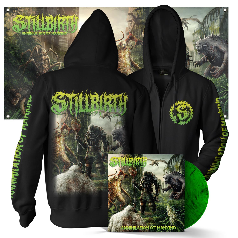 Annihilation of Mankind Hoody + LP Bundle