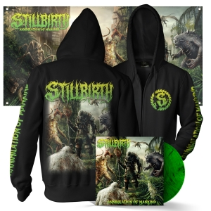 Annihilation of Mankind Hoody + LP Bundle