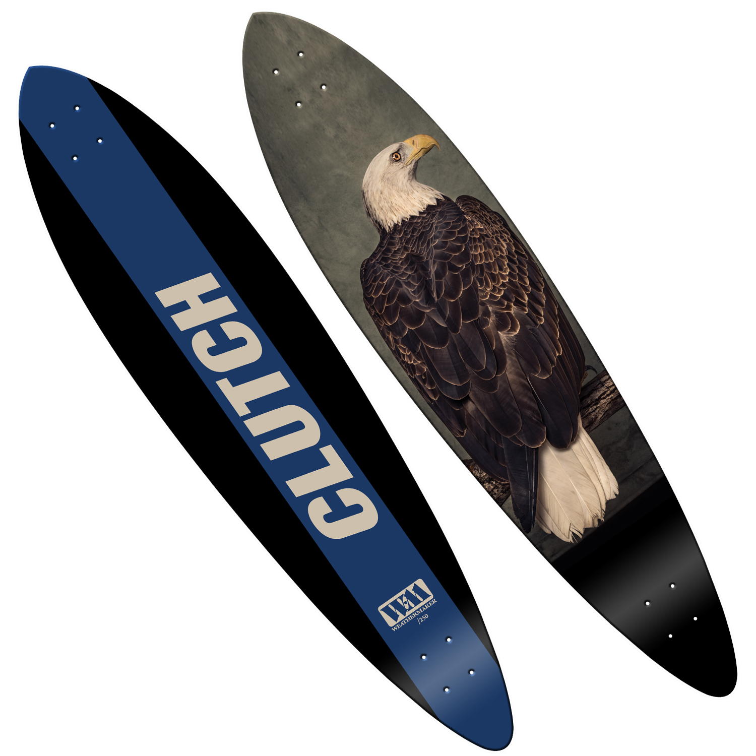 Limited Edition Longboard Skate Deck Bundle