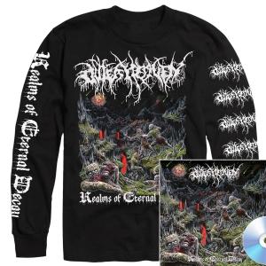 Realms Of Eternal Decay Longsleeve Shirt + CD Bundle