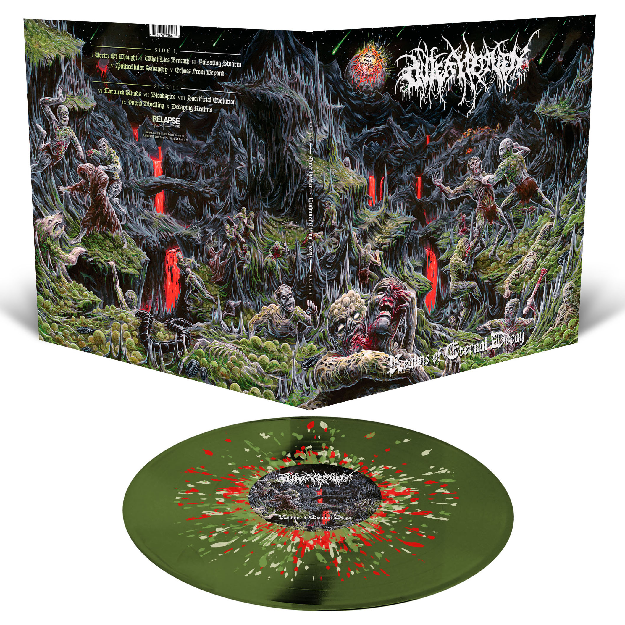 Realms Of Eternal Decay T Shirt + LP Bundle