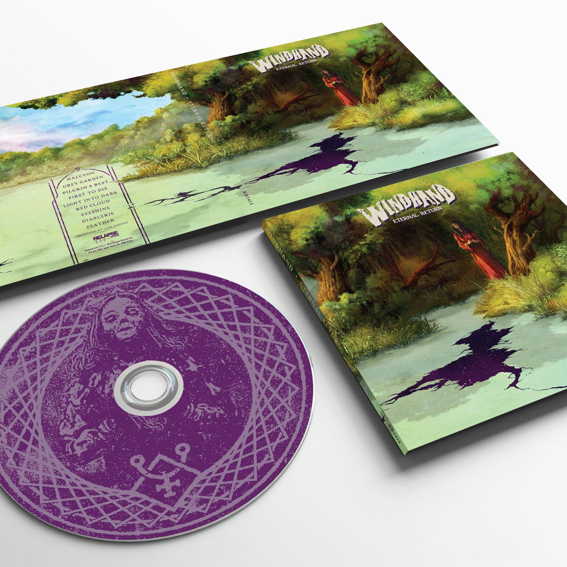 Eternal Return Raglan + CD Bundle