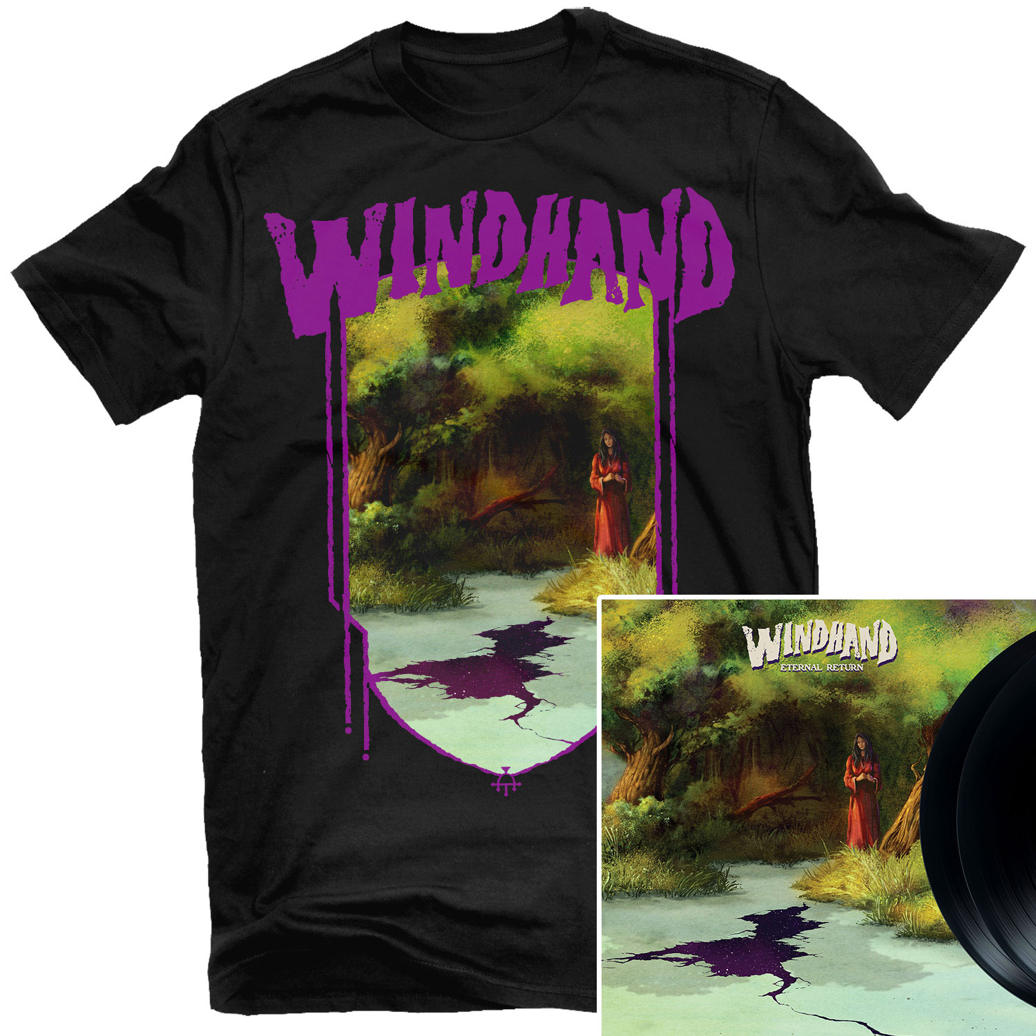 Eternal Return T Shirt + 2LP Bundle