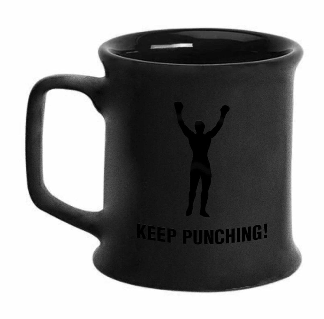 KEEP PUNCHING! Coffee Mug
