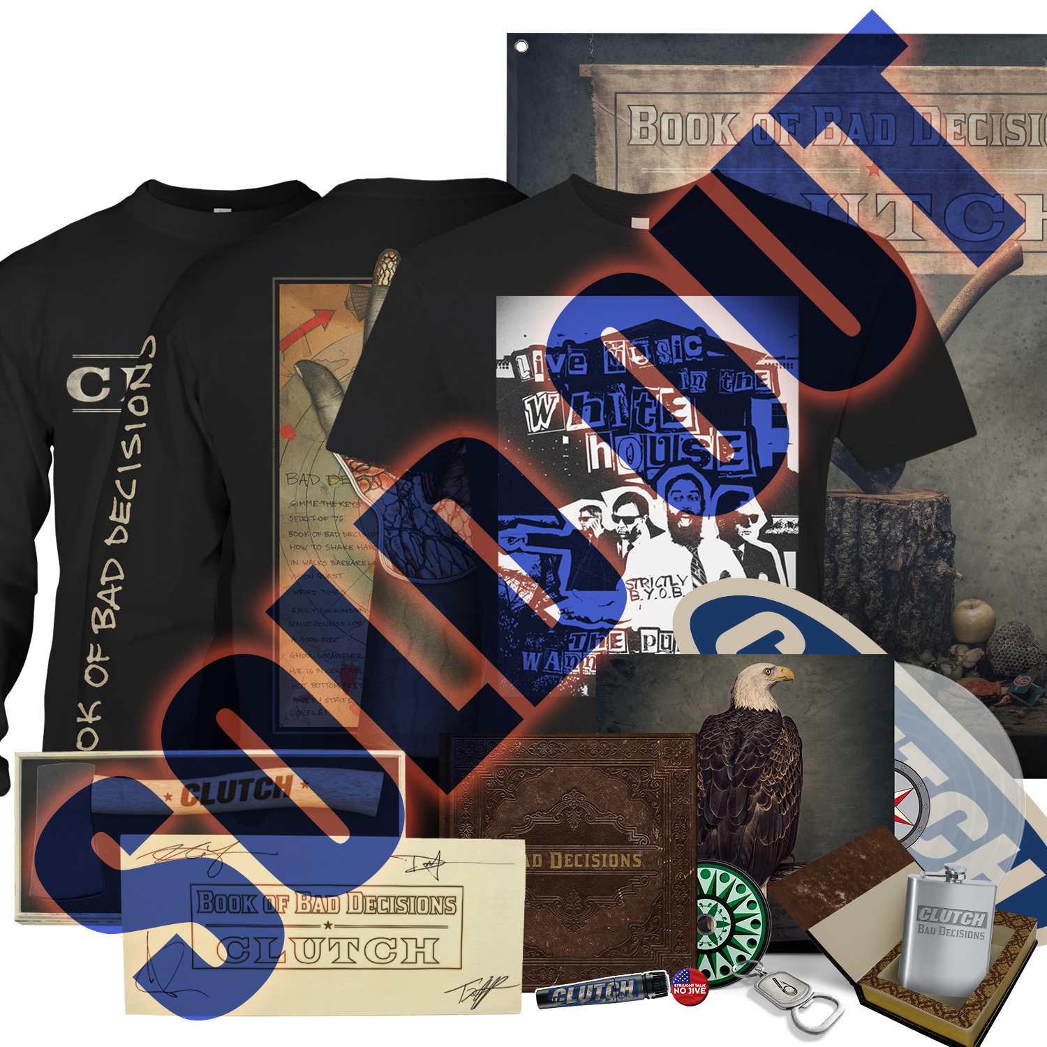 Limited Edition Colored Vinyl Collectors Bundle (Signed)