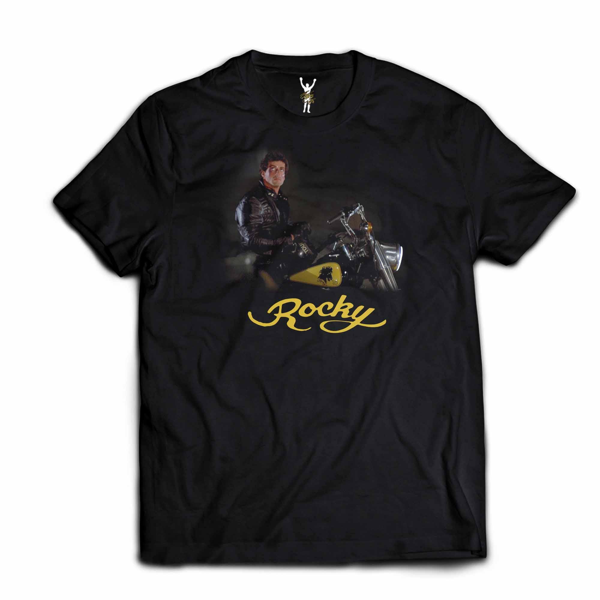 Rocky III Motorcycle Tee
