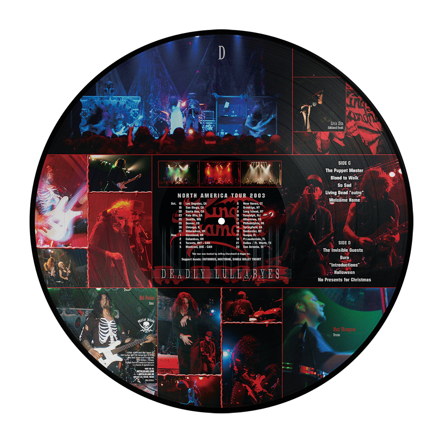 Deadly Lullabyes Live (Picture Disc)