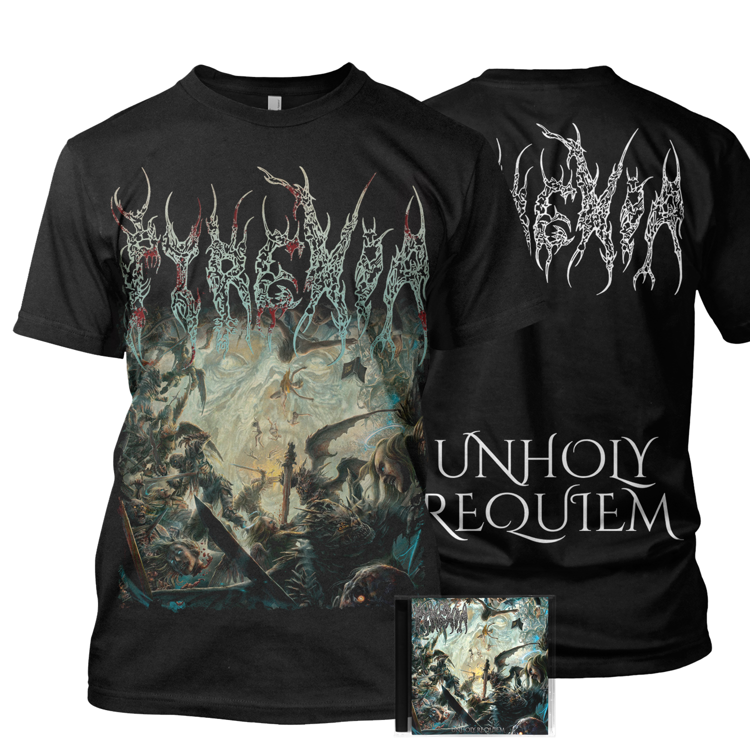 Unholy Requiem CD + Tee Bundle