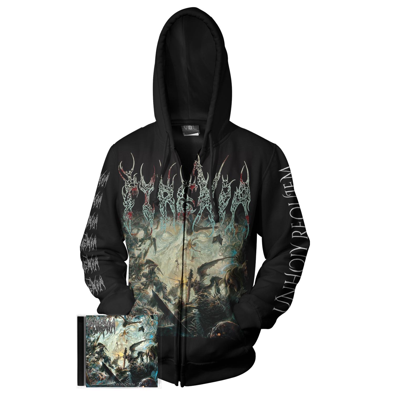 Unholy Requiem CD + Hoody Bundle