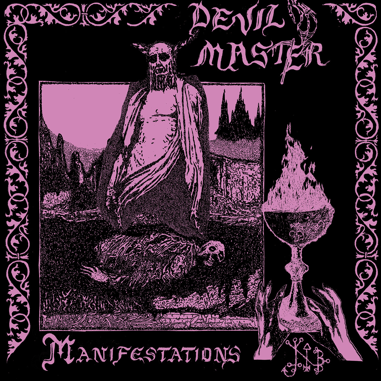 Manifestations T Shirt + CD Bundle