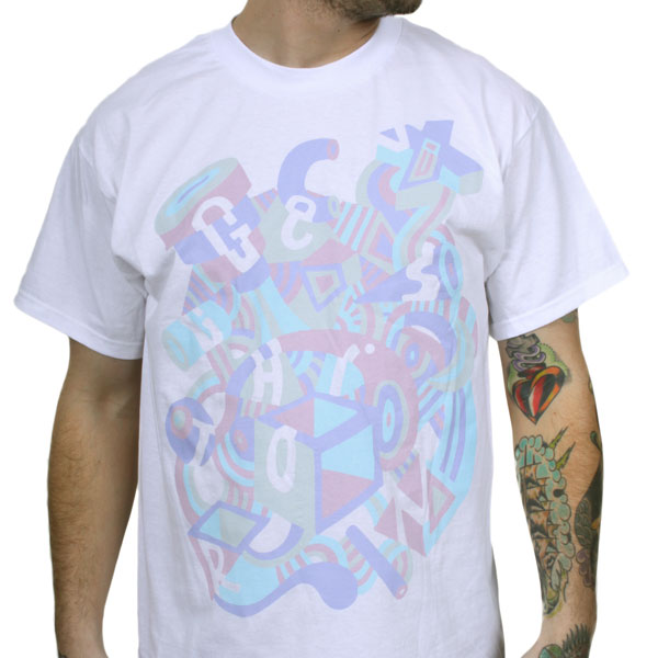 Genghis tron mural t shirt genghis tron for Murals on the t shirt