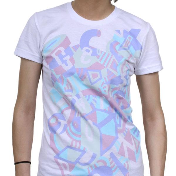 Genghis tron mural girls t shirt indiemerchstore for Murals on the t shirt