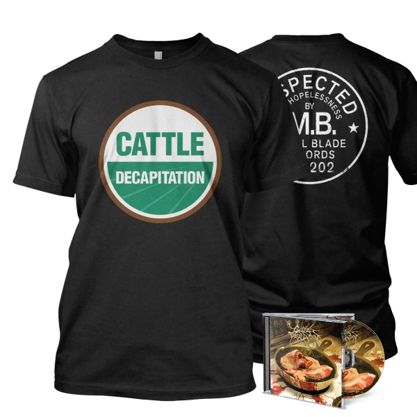 USDA Organic Tee / CD Bundle