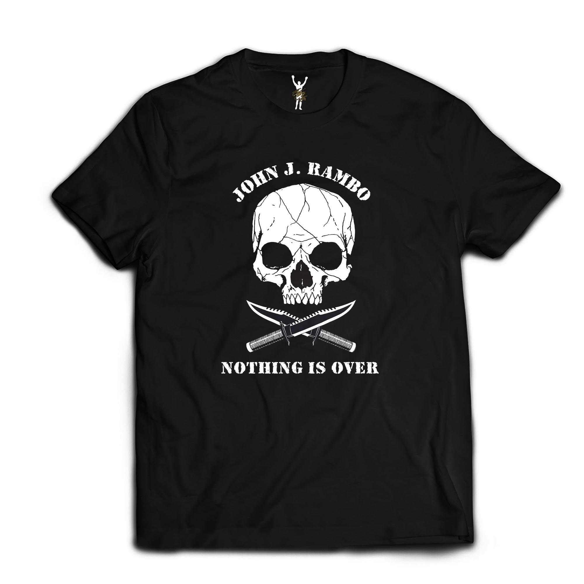 Nothing Is Over Black Tee