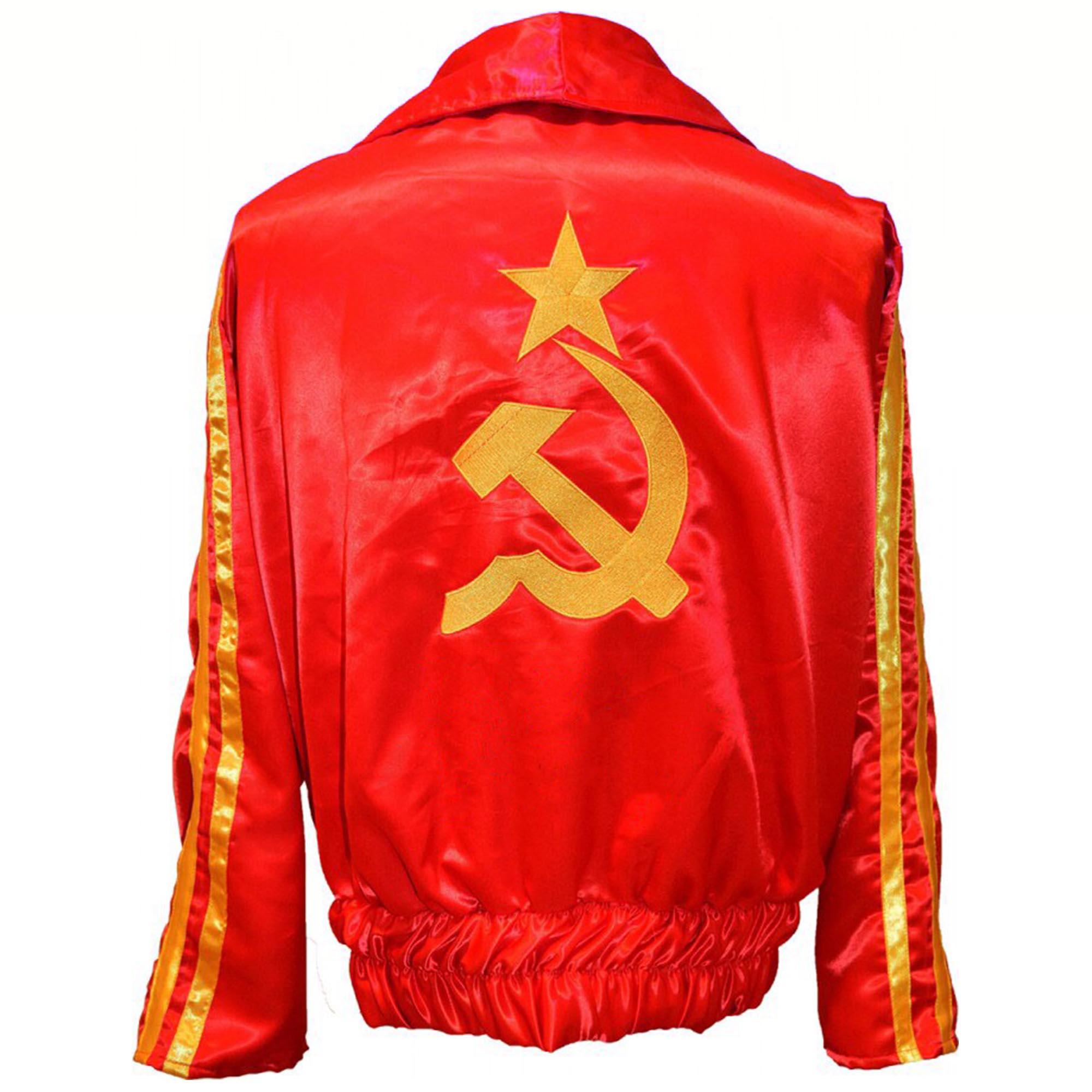 Ivan Drago Rocky IV Ring Jacket