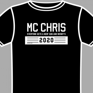 mc chris 2020 beto shirt